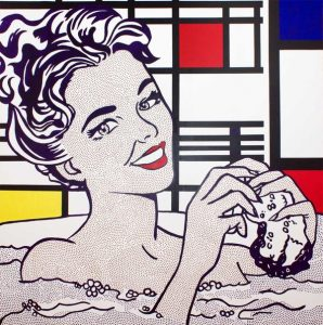 Roy Lichtenstein. Estilo pop art
